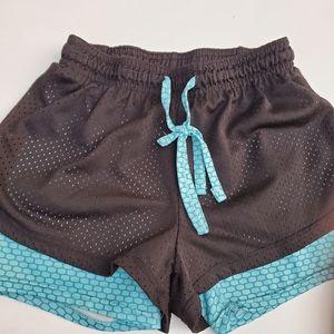 Bundle Girls 2 Runing Shorts Sz L (12-14)